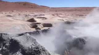 Bolivian geysers.. or when earth is mad ! ~ May 2015