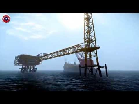 Offshore Platform Installation- Deck Installation