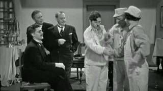 The Three Stooges: Moe becomes hailstone dictator of moronica (he looks just like)
