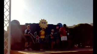 salsa dance by animation team @ sharm cliff resort  7/2008 ( sharm el-sheikh )