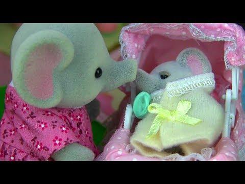 Что Такое Бадёбик или Как помочь маленькому Слонёнку Арчи Сильваниан Фэмилис 55 сериа Kikityki