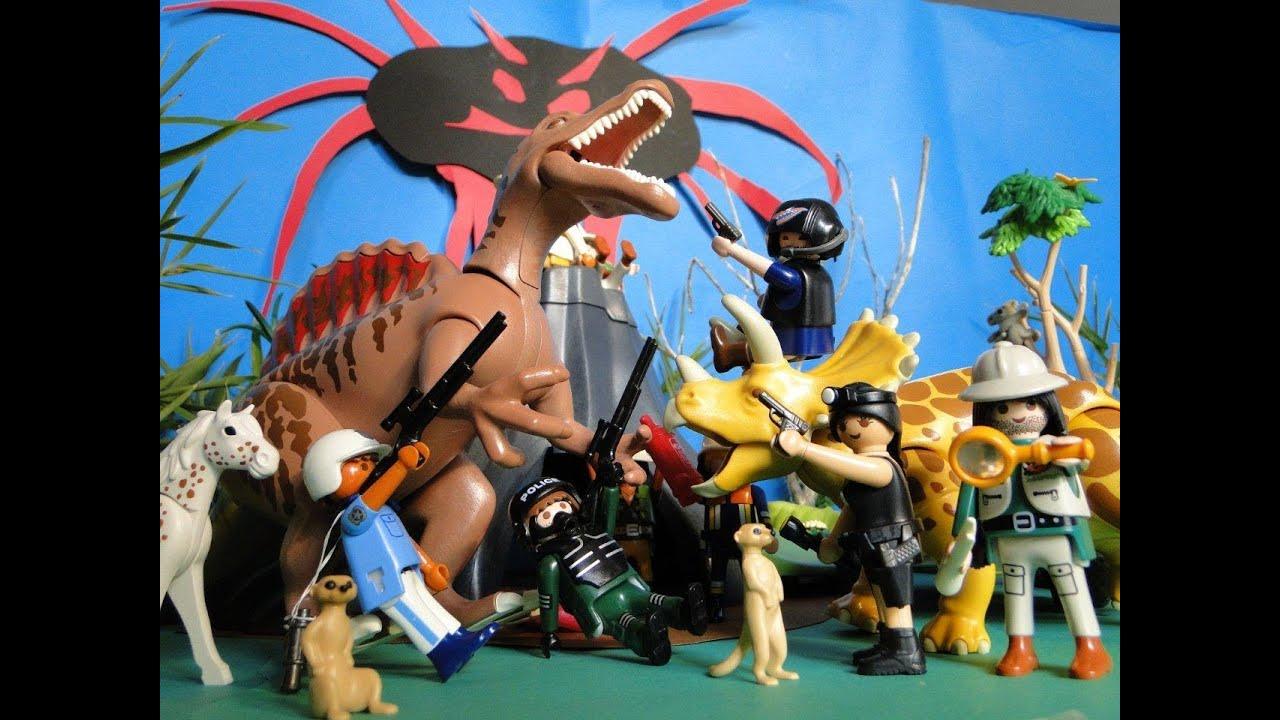 Playmobil dinos film dinosaure youtube for Playmobil dinosaurios