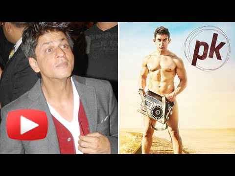 Shahrukh Khan Reacts To His Own Comment On Nude PK Poster