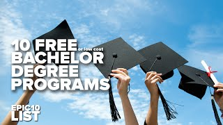 10 FREE (or Inexpensive) COLLEGES & UNIVERSITIES