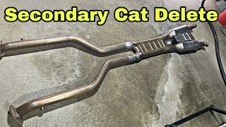 Secondary Cat Delete - Lexus GSF
