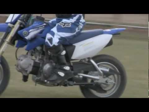4 YEAR OLD RIDING  YAMAHA TTR 50