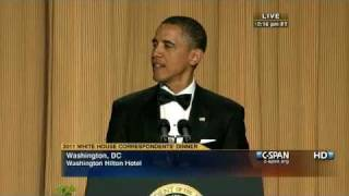 C-SPAN: President Obama at the 2011 White House Correspondents