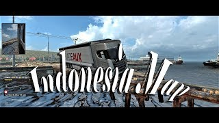 Euro Truck Simulator 2 - Ненормална карта - Indonesia Map... - Част #149