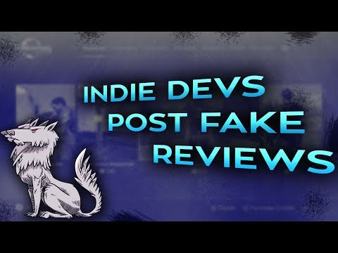Developers post fake reviews