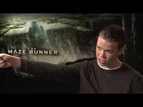 The Maze Runner - Will Poulter interview