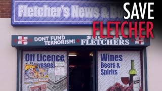 Tommy Robinson: Help UK shopkeeper bullied by police over anti-terror sign