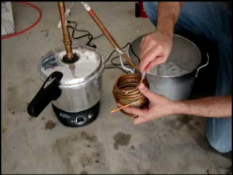 Ethanol mash Distilled - Easy method
