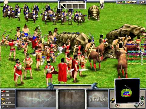 (Age Of Mythology The Titans)La Guerra Atlantes vs Griegos