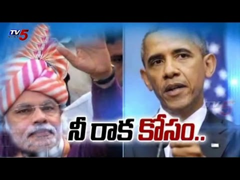 PM Narendra Modi and Obama Meeting on September 29th & 30th : TV5 News