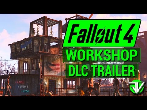 FALLOUT 4: NEW Wasteland Workshop DLC TRAILER and RELEASE DATE Announced! (Details and Analysis)