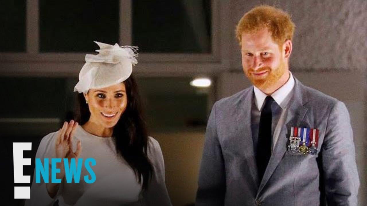 Meghan Markle & Prince Harry Recreate Queen Elizabeth II Photo | E! News