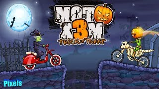Moto X3M Spooky Halloween Trick or Treat Level Pack