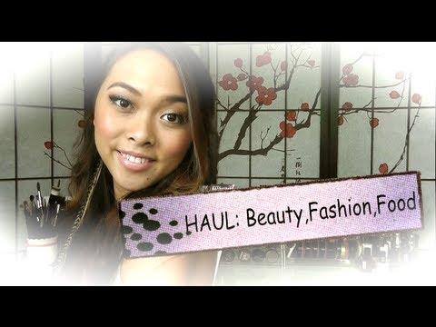 Einkauftipps: Beauty, Fashion & Food HAUL