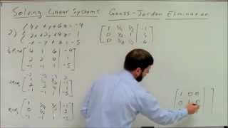 Solving Linear Systems: Gauss-Jordan Elimination