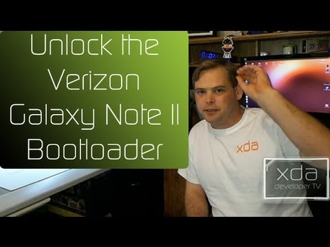 Unlock the Verizon Galaxy Note II Bootloader
