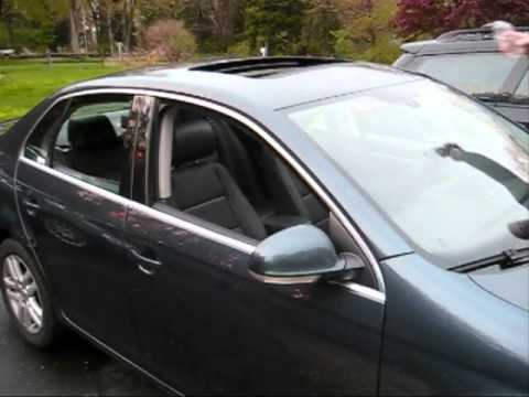 Auto rain closing windows on a Volkswagen, requires rain sensor install or activation