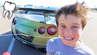 BABY TOOTH VS SUPERCAR!
