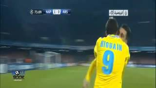 Napoli 2-0 Arsenal |HD| Uefa Champions League.