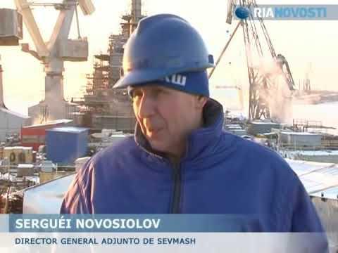 El portaaviones Ruso