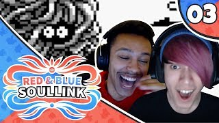 """""""WHY DO YOU KNOW CRABHAMMER???"""" Pokemon Red and Blue Soul link Ep. 3 w/ Davion_OW and Shadow Link"""