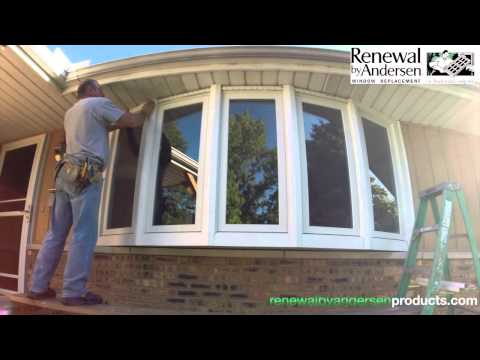 Bow Window Installation - Morton, IL - Renewal by Andersen