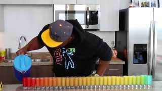 31 Shot Glass Rainbow Shot Challenge - Tipsy Bartender