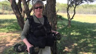 Alaska Photo Vest review with Teri