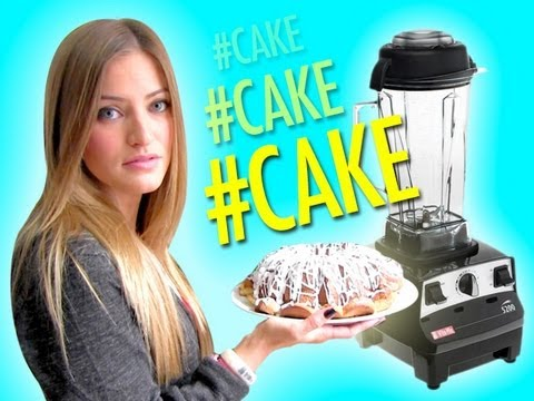 HOW TO MAKE A POUND CAKE IN A BLENDER!