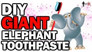 DIY GIANT Elephant Toothpaste - Man Vs Science