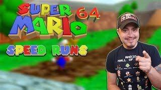 Let's get SUB 27 Super Mario 64 16 star Speed runs