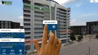 Architectural Virtual Reality experience for touch screen , VR Glasses , Wearable Device & Cardboard