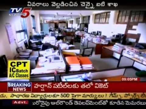 Chiranjeevi Response After IT Raids On Son-in-Law House(TV5)