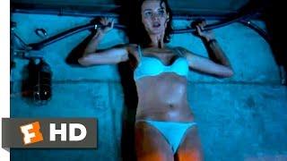 Deep Blue Sea  Shocking the Shark Scene 910  Movie