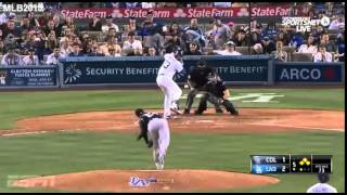 Colorado Vs Dodgers  - Greinke y los Dodgers derrotan a los Rockies 6-3  - Temporada 2015