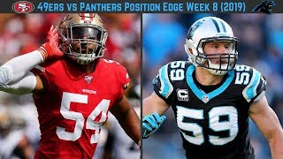 49ers vs Panthers Week 8, Who Has the Edge Position By Position? (2019)