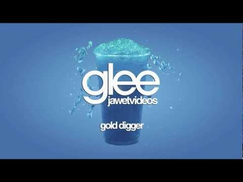 Glee Cast - Gold Digger (karaoke version)