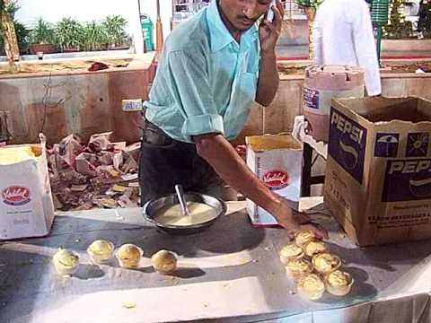 North Indian wedding feast: ice cream corner