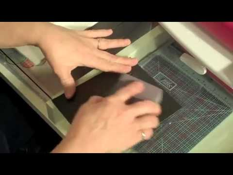 Using Cuttlebug/Sizzix embossing folders in a Grand Caliber