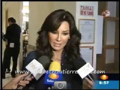 Elizabeth Gutierrez en Primero Noticias