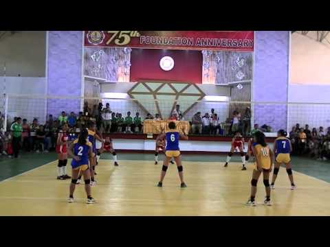 Palarong Pambansa 2016 Girls Volleyball NCR vs Calabarzon set 1