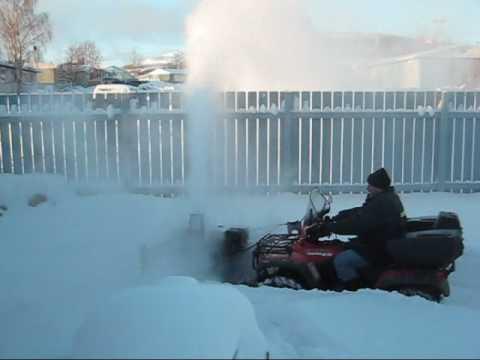 Da Blower - kimpex atv snowblower