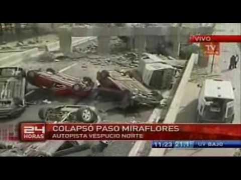 Imagenes después terremoto TV Chile 2010