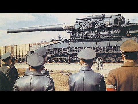 Оружие войны  Большие пушки Гитлера