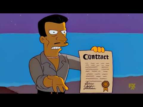 Simpsons - That Wasn't Part Of The Deal