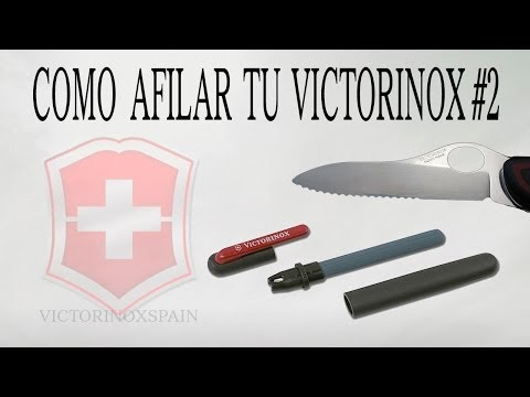 Victorinox tricks - Como afilar tu victorinox #2 - Afilar New Soldier - How to sharpen victorinox